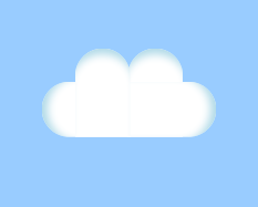 Pure CSS3 Cloud