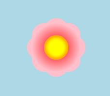 Pure CSS3 Flower