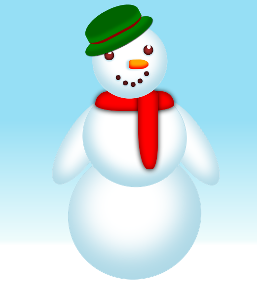 Pure CSS3 Animation Snowman